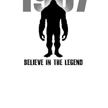 Bigfoot - Legend of 67 - Believe in the Legend by Tmiklos1971