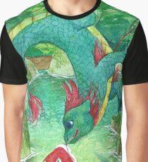 Bisou à moustaches! Graphic T-Shirt