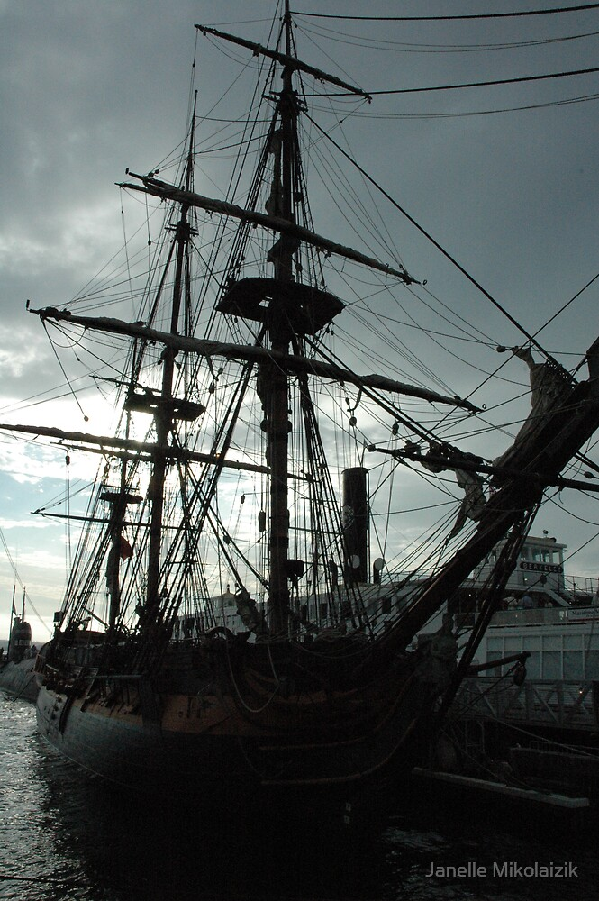 Shipyard by Janelle Mikolaizik
