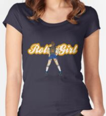 RollerGirl No1 Women's Fitted Scoop T-Shirt