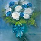 """""""Flowers From My Love"""" Oil on Canvas by MiSook Kim by misook"""