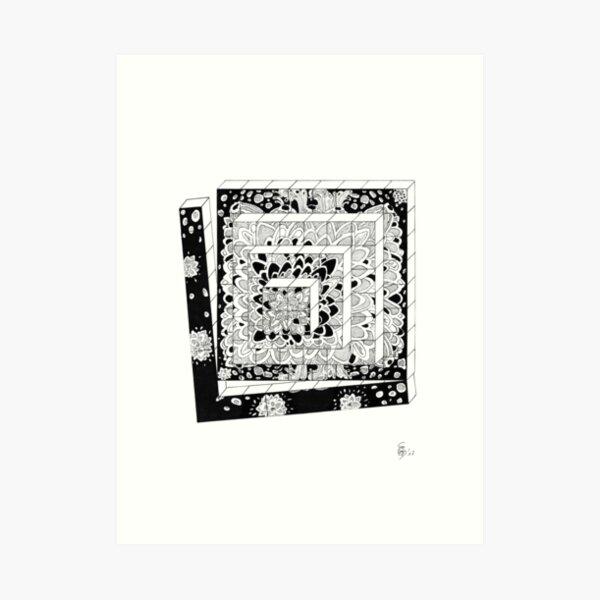Dice Row - Dices in a row Art Print