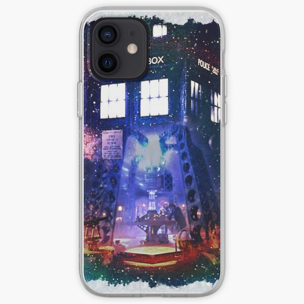 Nebula Public call Box In Space iPhone Case iPhone Soft Case