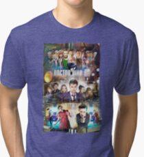 Tardis character T-Shirt Tri-blend T-Shirt