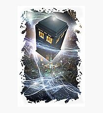 time lord blue box iPhone 6 plus cases Photographic Print