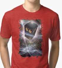 time lord blue box iPhone 6 plus cases Tri-blend T-Shirt