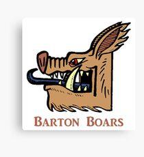 Barton College Boars - Heritage Canvas Print