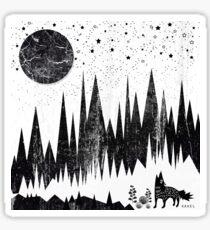 Moonshine Sticker