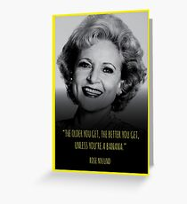Betty white greeting cards redbubble the golden girls rose birthday card greeting card bookmarktalkfo Images