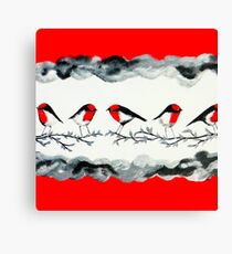 Robins Canvas Print