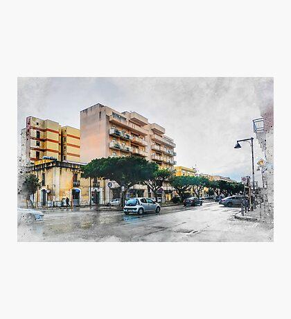 Trapani art 9 Photographic Print