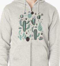 Cacti Zipped Hoodie