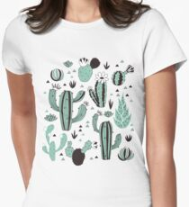 Cacti Women's Fitted T-Shirt