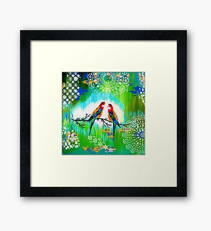 Green and Fresh Framed Print