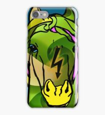 Green Horse  iPhone Case/Skin
