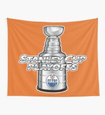 Edmonton Oilers NHL Playoffs Wall Tapestry