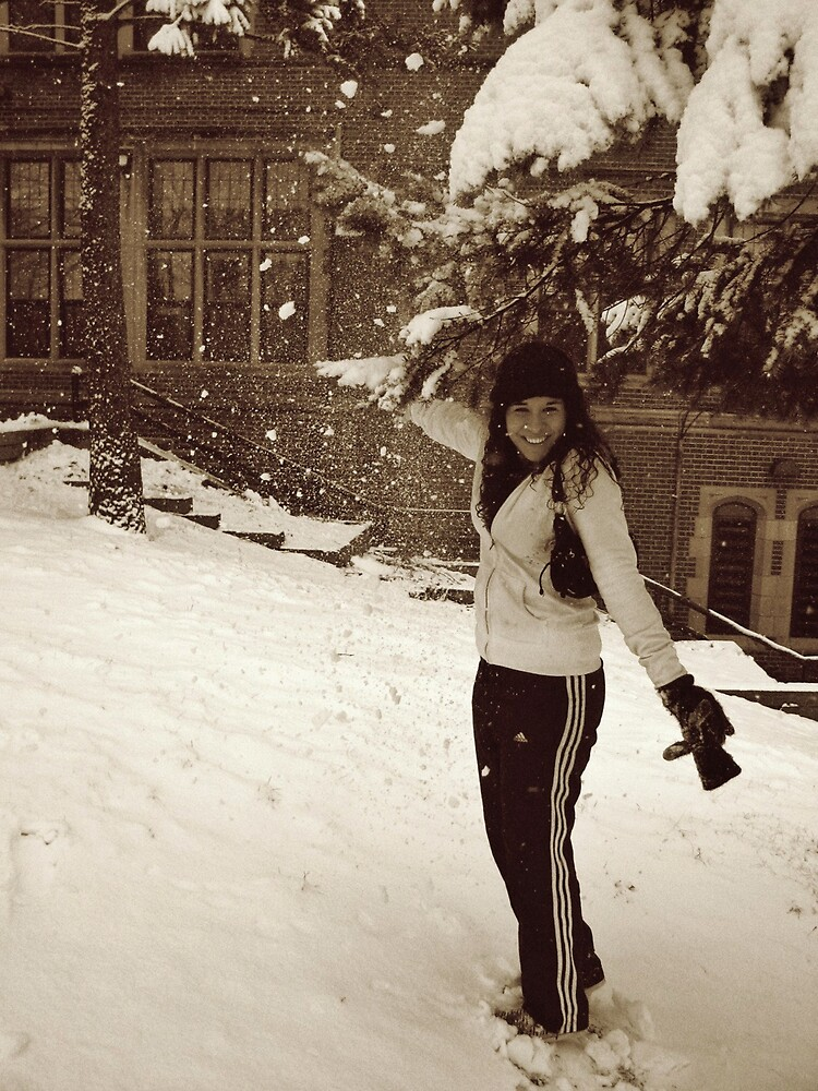 Let it snow. by Melissa  Carroll