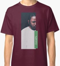 DAMN. - KENDRICK LAMAR ILLUSTRATION - green Classic T-Shirt