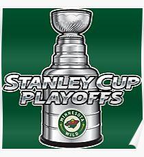 Minnesota Wild NHL Playoffs Poster