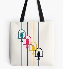 Chime in CMYK Tote Bag