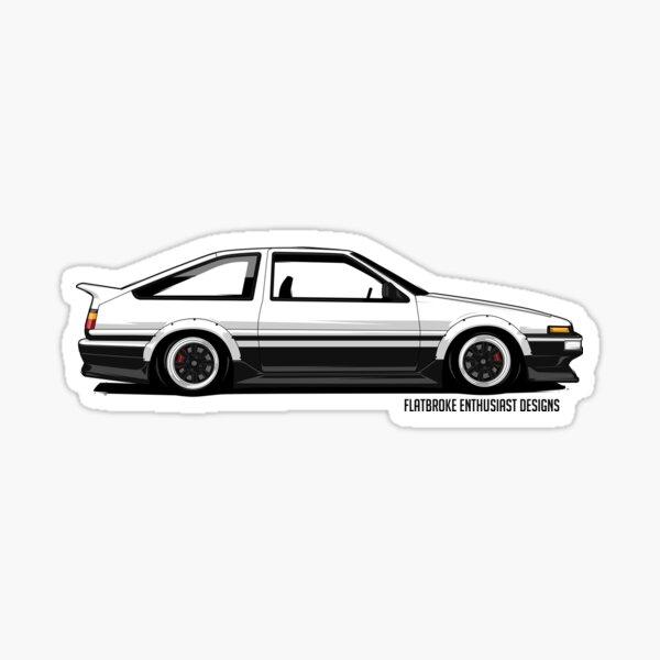AE86 Trueno Sticker