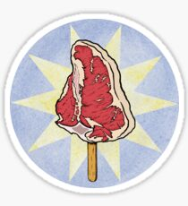 Meat Popsicle Sticker