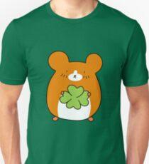 Four Leaf Clover Hamster Unisex T-Shirt