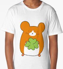 Four Leaf Clover Hamster Long T-Shirt