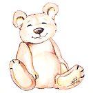 Teddy, Mixed Media by Danielle Scott