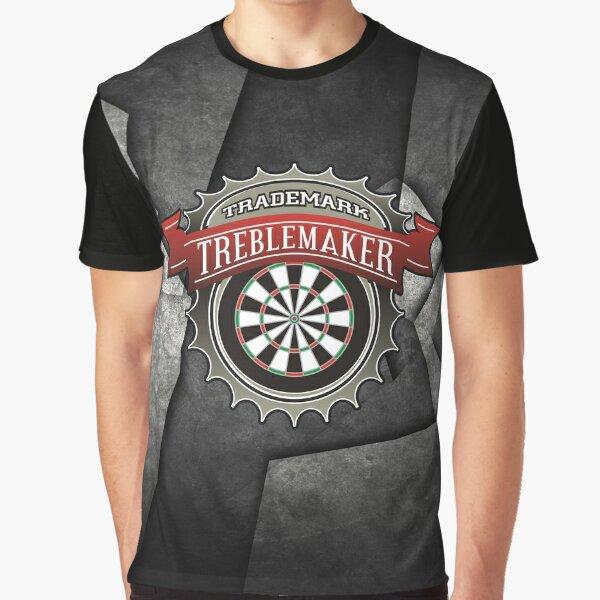 Treblemakers Darts Team Graphic T-Shirt
