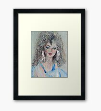 Mystic, Colored Pencil Drawing Framed Print