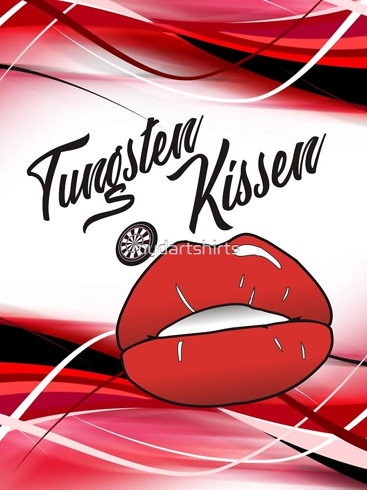 Tungsten Kissen Darts Team by mydartshirts