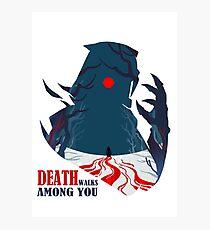Death Among You(Beta) Photographic Print