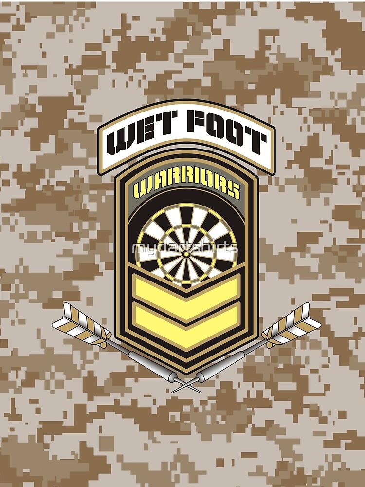 Wet Foot Warriors Darts Team by mydartshirts