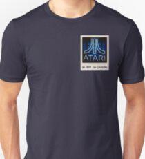 Atari Logo Neon Sign Polaroid Photo Photograph #1977 #GameOn Unisex T-Shirt