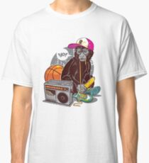 Hip-Hop Monkey Classic T-Shirt