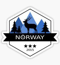 Norway Outdoor Elk Sticker