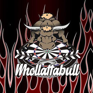 WhollottaBull Darts Team by mydartshirts