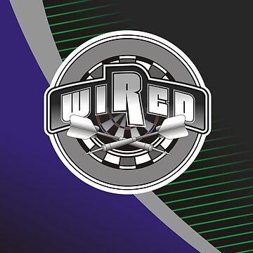 Wired Darts Team by mydartshirts