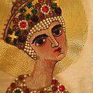 Byzantine Style Virgin Mary by wiggyofipswich