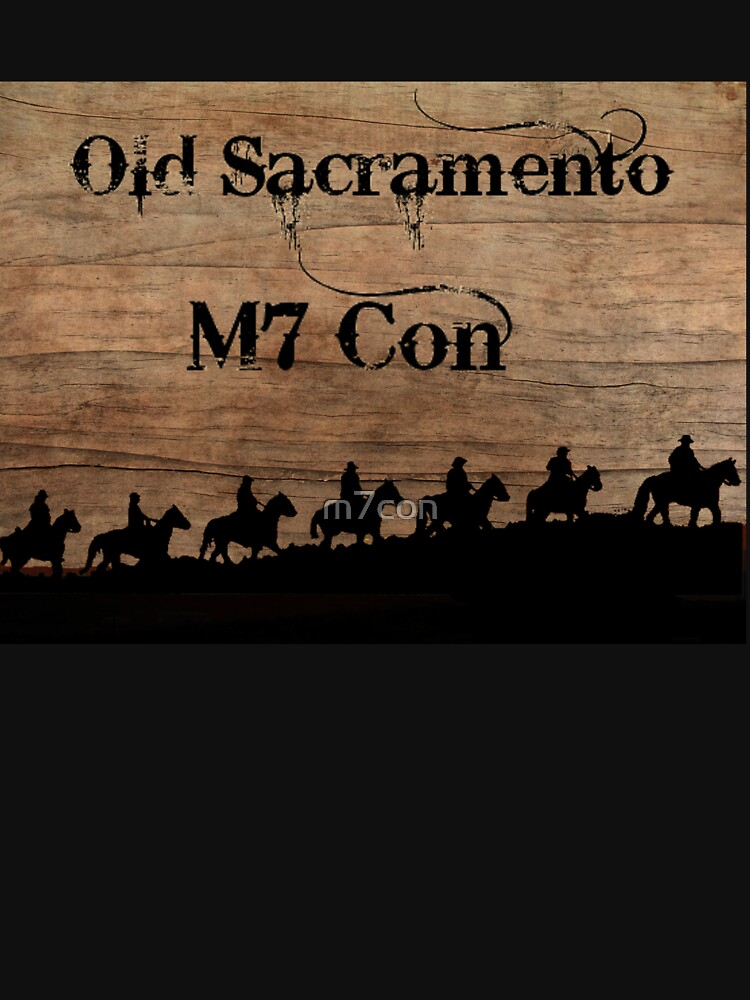 Old Sacramento M7 Con Convention Tee Shirt by m7con