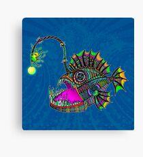 Electric Angler Fish Canvas Print