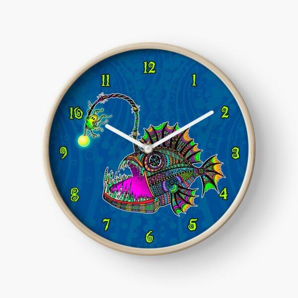 Electric Angler Fish Clock