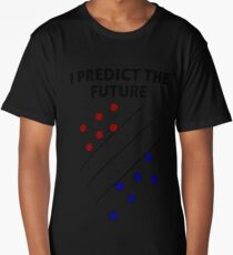 Support Vector Machine, Predict the Future Long T-Shirt