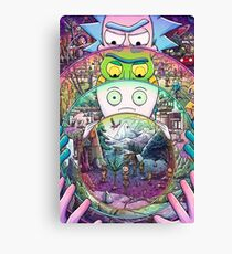 The Ricks Must Be Crazy Canvas Print