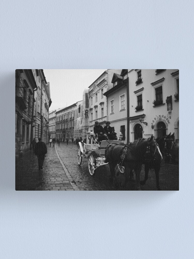 Alternate view of Kanonicza Street, Krakow, Poland Canvas Print
