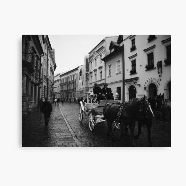 Kanonicza Street, Krakow, Poland Canvas Print