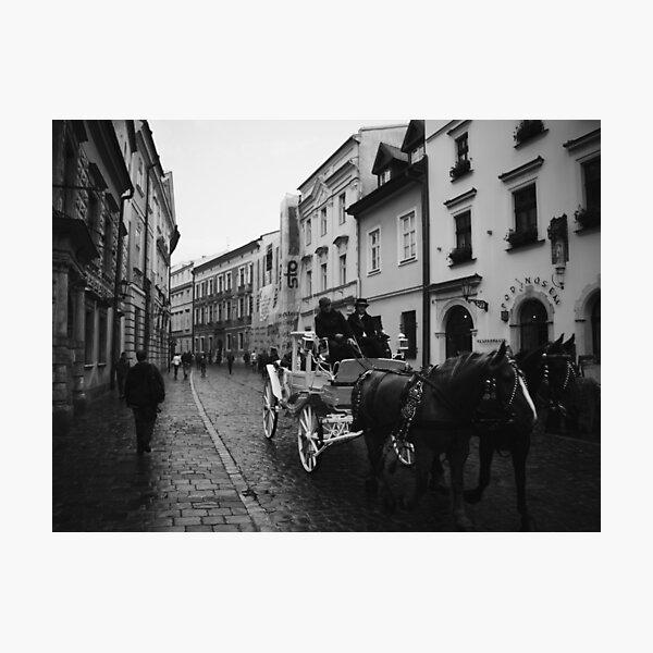 Kanonicza Street, Krakow, Poland Photographic Print