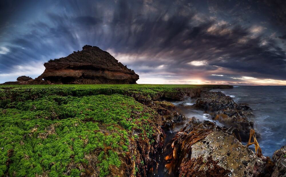 Salad Coast Sunset by Robert Mullner