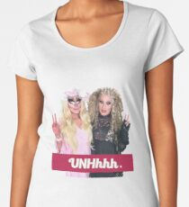 Katya And Trixie UNHhhh Women's Premium T-Shirt